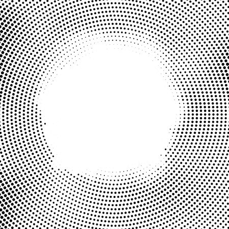 Halftone vector dots.Halftone effect. Background concept. Vignette texture.  Circle dots isolated on the white background.