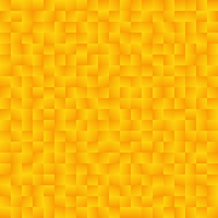 Texture consisting of yellow gradient squares.Abstract vector background.Template for your design.