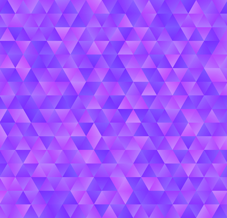 Texture consisting of blue gradient triangles.Abstract vector background.Template for your design.