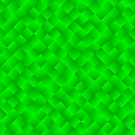 Texture consisting of green gradient squares.Abstract vector background.Template for your design.
