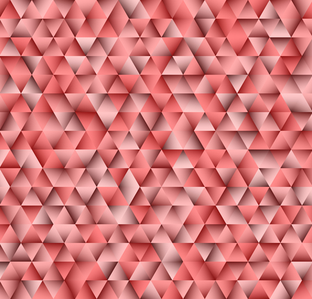 Texture consisting of red triangles.Abstract vector background.Template for your design. Illustration