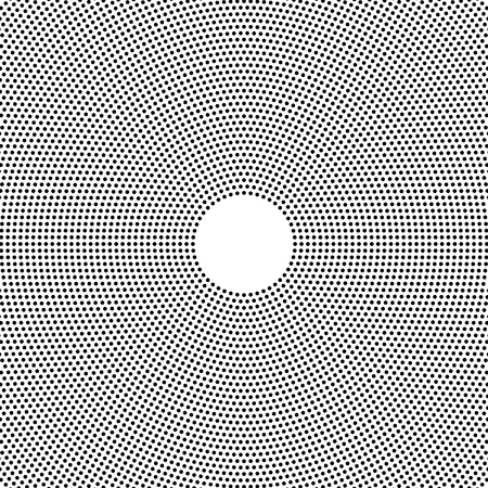 Halftone dotted background evenly distributed. Halftone effect vector pattern. Circle dots isolated on the white background.