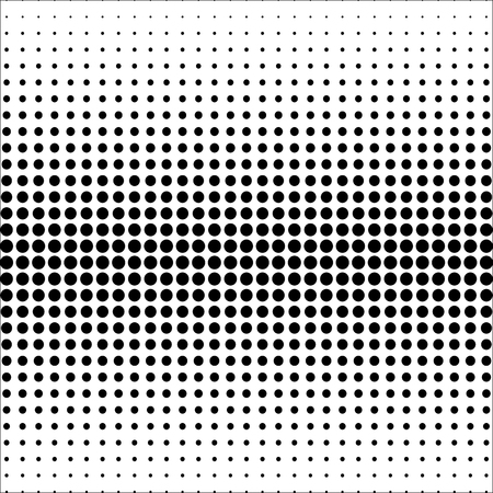 Set of halftone dotted backgrounds. Halftone effect vector patterns collection. Circle dots isolated on the white background.
