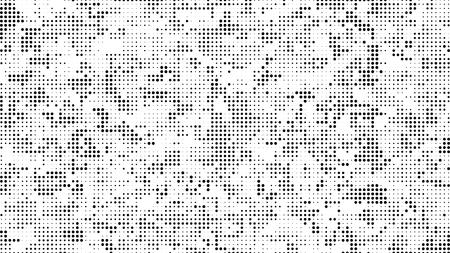 하프 톤 점선 배경. 하프 톤 효과 벡터 패턴입니다. 흰색 배경에 고립 된 원 점입니다. 벡터 (일러스트)