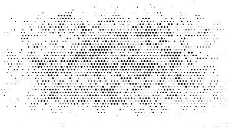 하프 톤 점선 배경. 하프 톤 효과 벡터 패턴입니다. 흰색 배경에 고립 된 원 점입니다.
