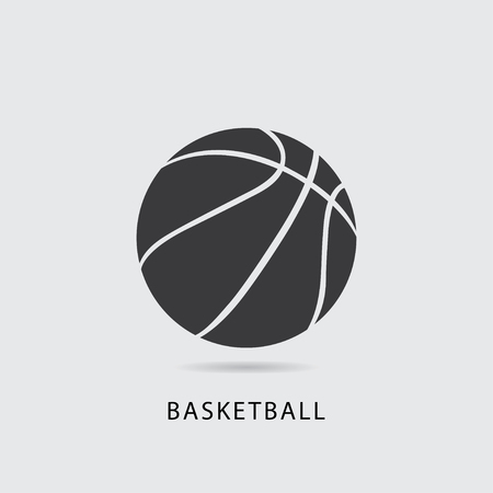 Basket ball icon vector illustration.