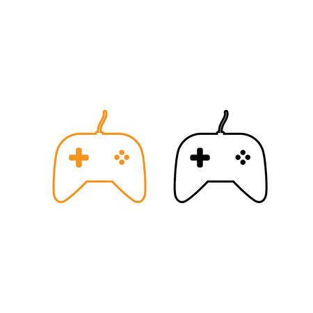 Game controller icon vector illustration.