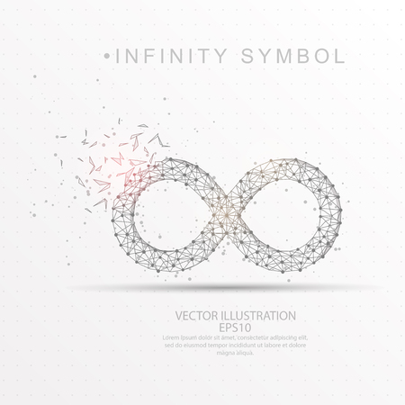 Infinity symbol shape point