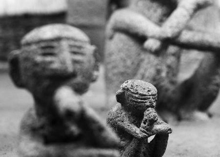 wise men: 3 saggi pensiero statue