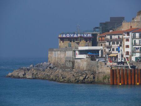 San sebastian bay at sunny day