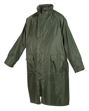 Waterproof raincoat isolated on white background Stock Photo