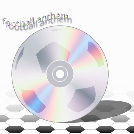anthem: the football anthem for champions ready to new victories Illustration