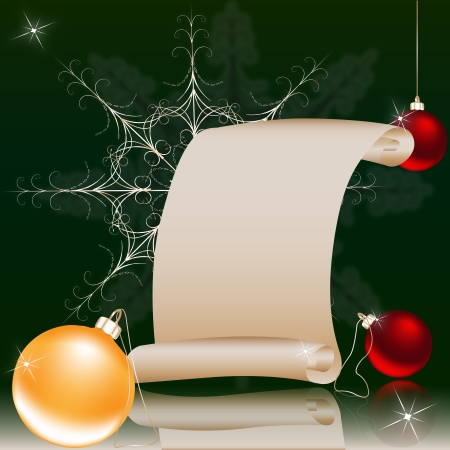 Christmas and the New Years illustration Vector