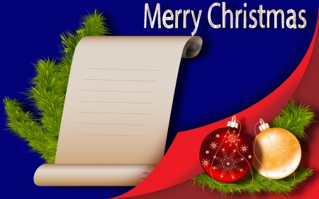 Christmas tree background New Year greeting-card photo