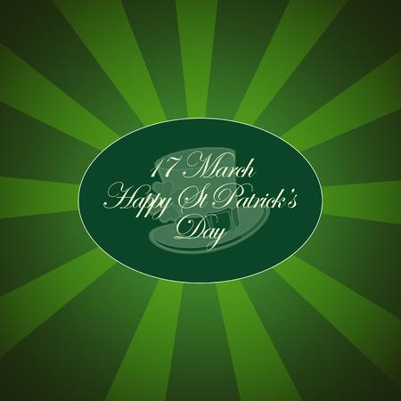 Saint Patricks Day Typographical Background