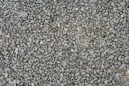 macadam: Texture of a gravel background