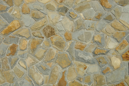 close up image: Stone wall texture background. Close up image