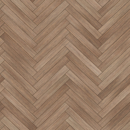 Seamless wood parquet texture (herringbone brown) Stock Photo
