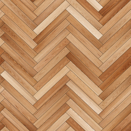 Seamless wood parquet texture (herringbone sand color)