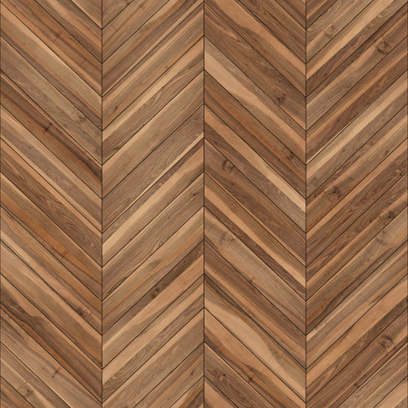 Seamless wood parquet texture (chevron brown)