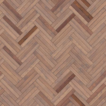 Naadloze houten bruine parkettextuurvisgraat