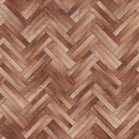 Seamless wood parquet texture herringbone brown