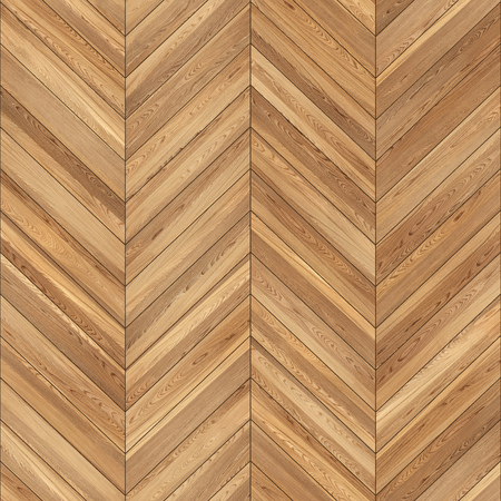 Seamless wood parquet texture chevron light brown Standard-Bild - 108270682