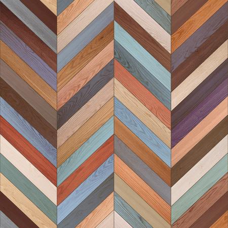 Seamless various parquet texture Stock Photo