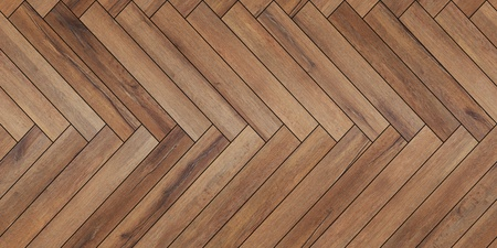 Seamless wood parquet texture horizontal herringbone brown