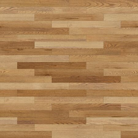Seamless wood parquet texture (linear light brown) 写真素材