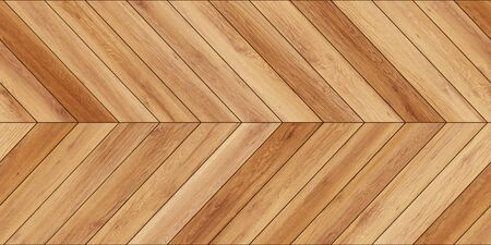Seamless wood parquet texture horizontal chevron light brown