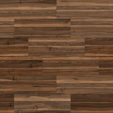 Naadloze houten parketstructuur lineair bruin