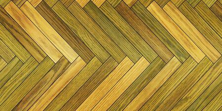 Nahtlose Holzparkett Textur horizontale Fischgrätmuster verschiedene Standard-Bild