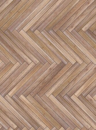Seamless wood parquet texture herringbone light brown
