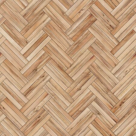 Seamless wood parquet texture herringbone light