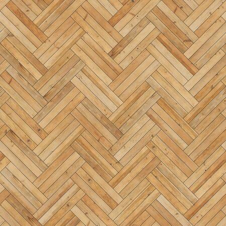 Colore sabbia a spina di pesce con struttura in parquet di legno senza cuciture