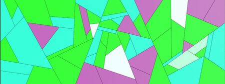 Simple colorful geometric abstract patterns 写真素材