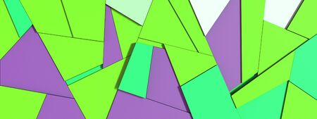 3d simple geometric abstract patterns