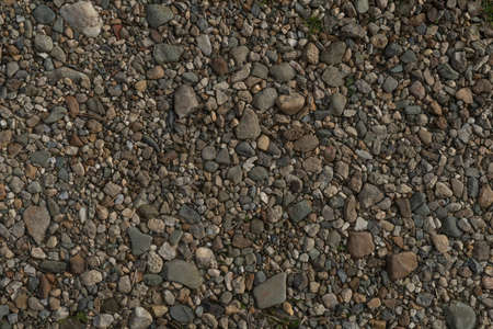 Texture Of Many Crushed Stones