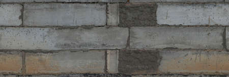 Seamless big concrete blocks texture