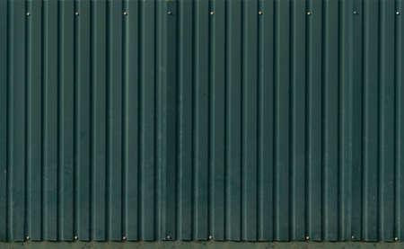 Seamless green metal site fence Standard-Bild