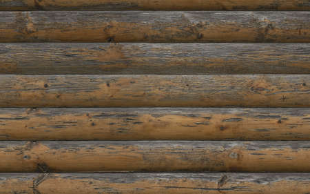 Seamless planked wood facade texture