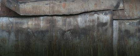 Metal rusty water pipe texture