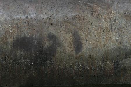Crumpled rusty metal closeup texture