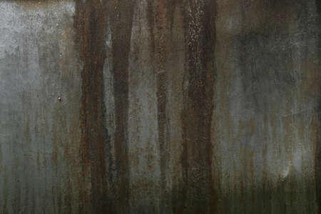 Rusty metal leaking closeup texture Standard-Bild