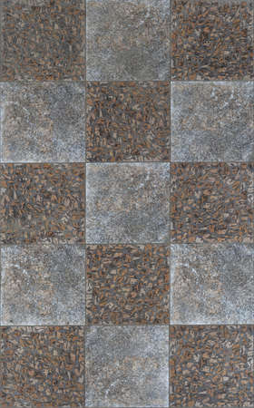 Seamless pavement tiles with small stones
