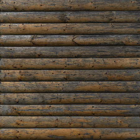 Aged planked wood fence texture