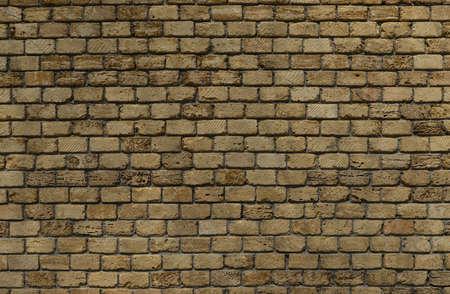 Antique Brick Wall Background Texture