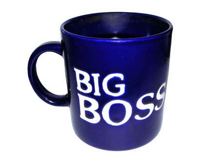 ビジネスの男性のカップ