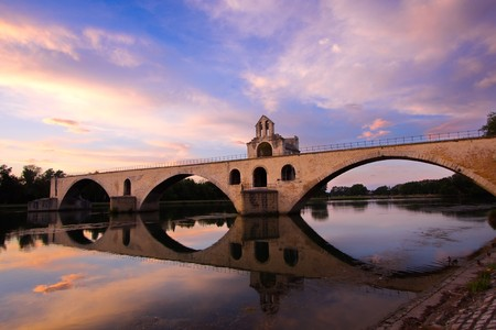 rhone: Bridge Saint-Benezet